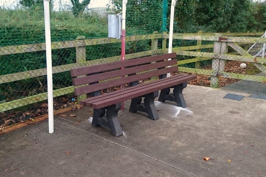 garden bench Dublin p1
