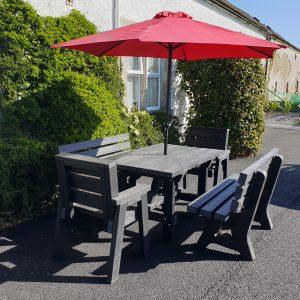 garden set belvedere