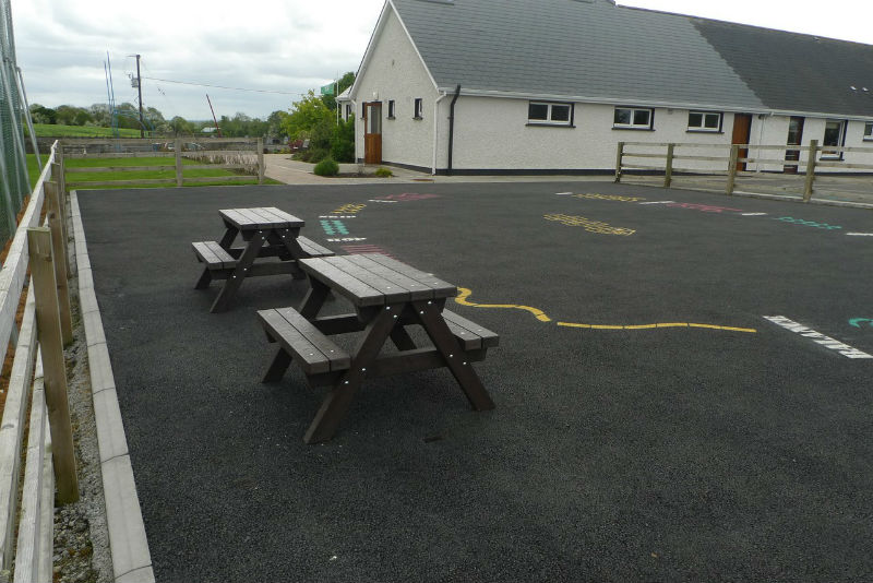 Carrig National School Picnic Tables