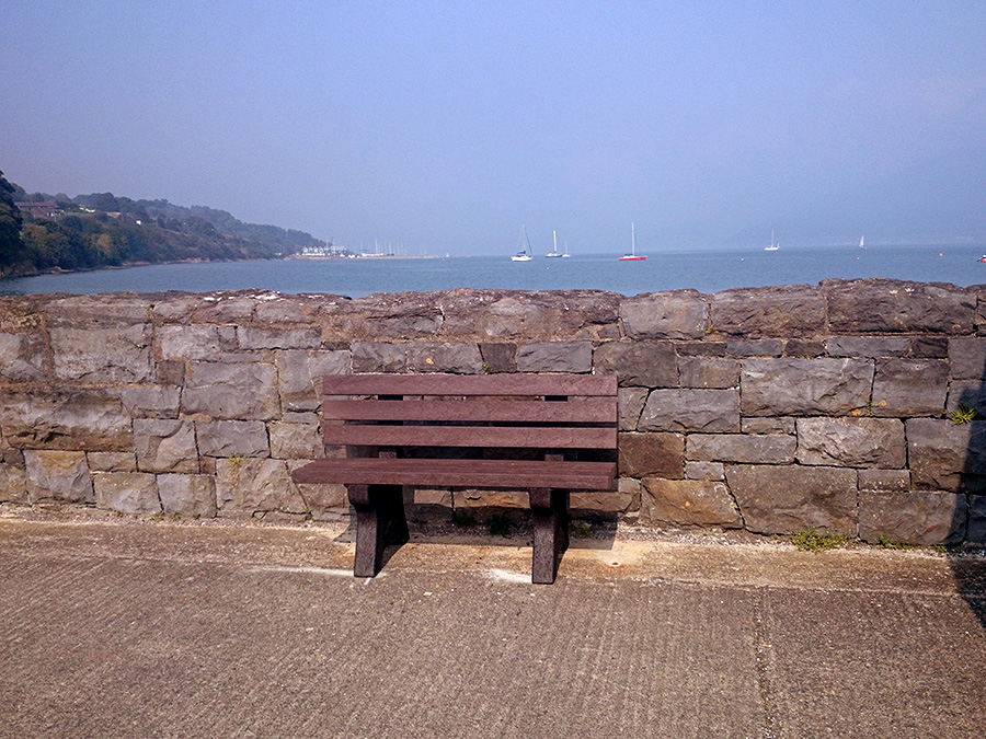 Recycled Plastic Bench - Carlingford
